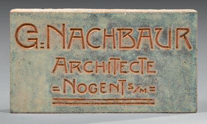 GEORGES-THÉODORE NACHBAUR (1842-1921)