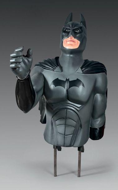 BATMAN Important buste ornemental de salle...
