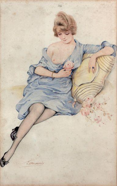 SUZANNE MEUNIER - POINT (1888-1979)