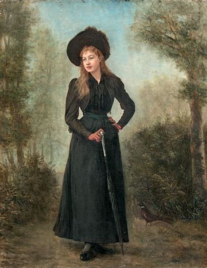 ÉCOLE FRANÇAISE, circa 1890