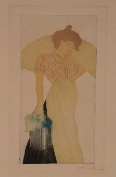 THÉOPHILE-ALEXANDRE STEINLEN (1859-1963)