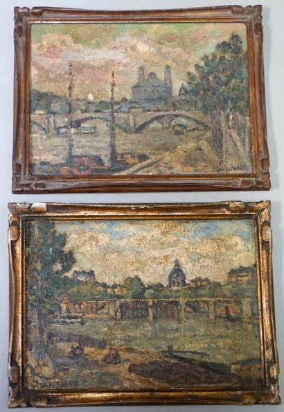 ADOLPHE CLARY-BAROUX (1865-1932)  Paris,...