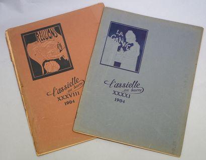COLLECTIF. L'Assiette au Beurre, deux albums....