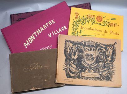 [PARIS]. Réunion de volumes.  • HANS BANGER....