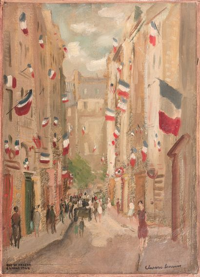 JEAN CLUSEAU-LANAUVE (1894-1997)  Paris,...