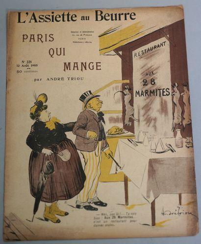 COLLECTIF. Paris qui mange.