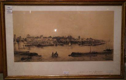 CHARLES HENRI MICHEL (1817-1905)  Paris,...