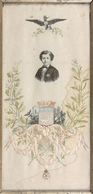 PORTRAIT DU PRINCE IMPÉRIAL (1856-1879),...