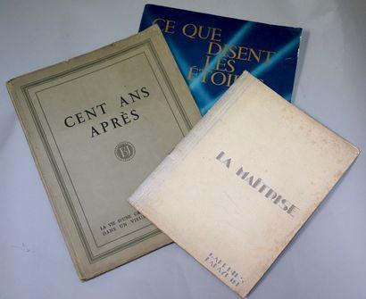 RÉUNION DE CATALOGUES ET ALBUMS DE GRANDS...