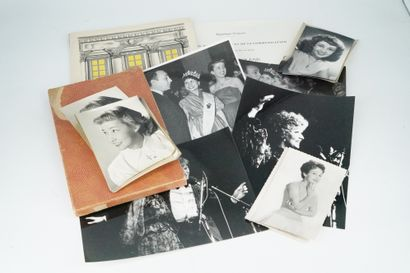 露西-多莱娜小姐的档案  - 重要的彩色和黑白照片集,代表Lucie Dolène:与Pierre...