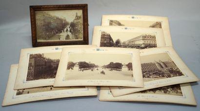 未确定的作者  特罗卡德罗宫(Palais du Trocadéro)、交易所广场(Place...