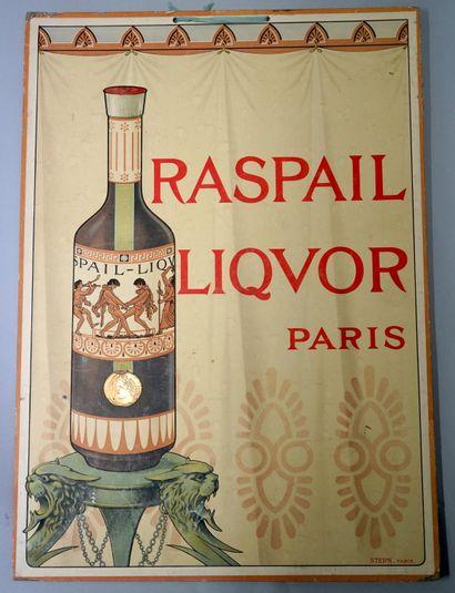RASPAIL, LIQUOR, PARIS  Poster lithographed...