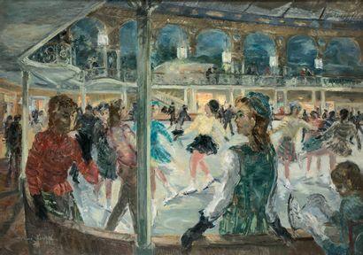 RENÉ LEVREL (1900-1981)  Paris, le Palais...