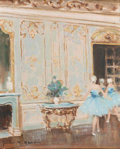 JULES RENÉ HERVÉ (1887-1981)  Paris, ballerines...