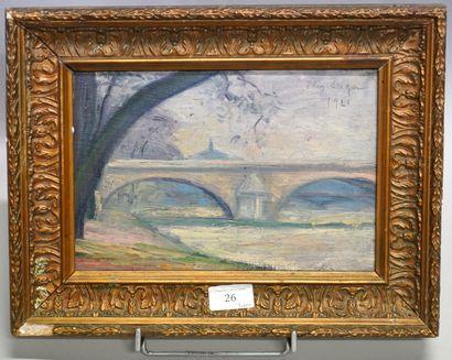EDMOND ZEIGER DE BAUGY (1895-?)  Paris, le...