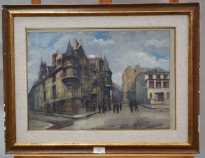 ANDRÉ EUGÈNE COSTILHES (1865-1940)  Paris,...