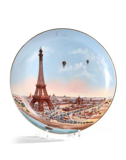 PLAT, EXPOSITION UNIVERSELLE, PARIS 1889...