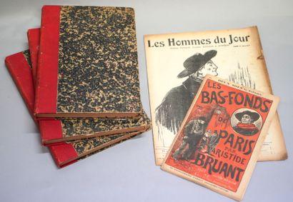 ARISTIDE BRUANT (1851-1925)  Réunion de livres,...