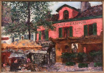 ANTOINE FERRACCI (1890-1984)  Place du Tertre...