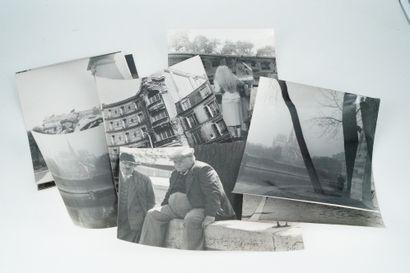 乔治特-查杜恩(1899-1983)  圣路易岛上的婴儿车,塞纳河码头的动画,书商的顾客,坐在塞纳河码头上的人,巴黎的建筑,塞纳河码头上的婴儿车,花园里的雕塑,喷泉...