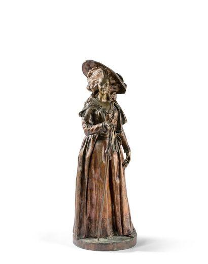 JACQUES BOERO (XIXe SIÈCLE)  Marie-Antoinette...