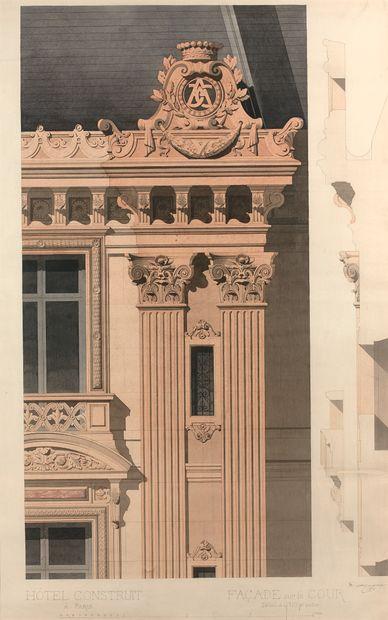 DENIS-LOUIS DESTORS (1816-1882) Hôtel Abraham-Behor...