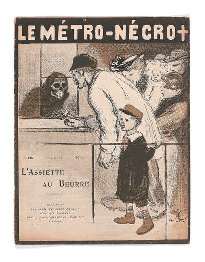 COLLECTIF. Le Métro-Nécro.