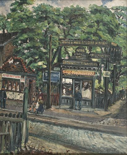 RAYMOND BESSE (1899-1969)  Saint-Ouen, le...