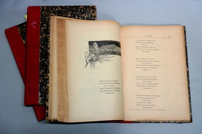ARISTIDE BRUANT (1851-1925)  Réunion de livres, fascicule, revue.  • ARISTIDE BRUANT....