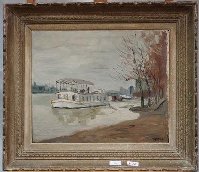 LOUIS ÉDOUARD TOULET (1892-1967)  Paris,...
