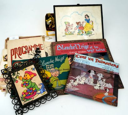 Lot de livres d'enfants : Blanche Neige,...