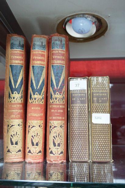* Jules VERNE (1828-1905), Voyages Extraordinaires...