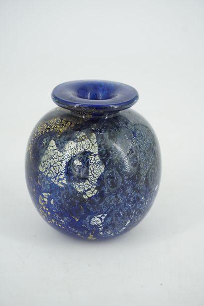 Olivier MALLEMOUCHE (né en 1964), petit vase...