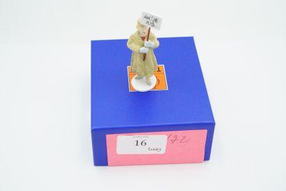 Figurine en plomb – édition Moulinsart –...