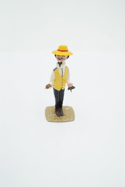 Tintin – Pixi boîte rouge – Tournesol a la...