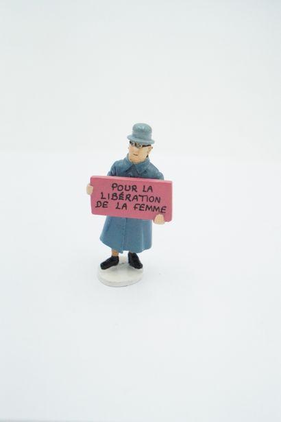 Figurine plomb – édition Moulinsart – Série...