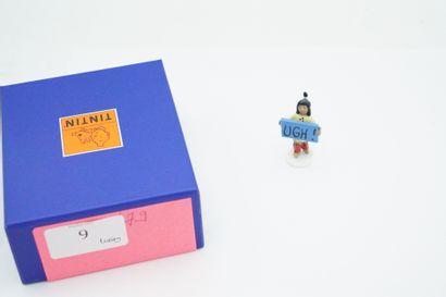 Figurine en plomb – édition Moulinsart -...