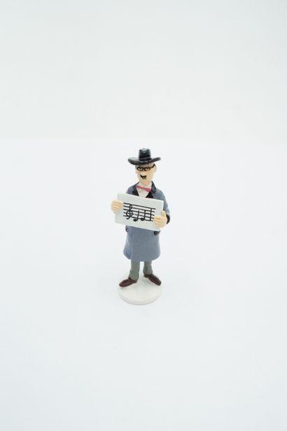 Figurine plomb – édition Moulinsart - Série...