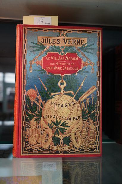 VERNE (Jules) - L'île à Hélice, Illustrations...