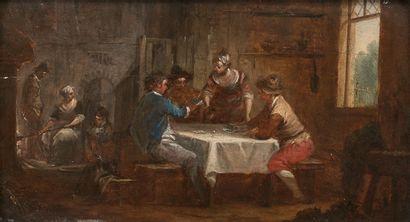 ATTRIBUEÉ À JEAN BAPTISTE LALLEMAND (1710...