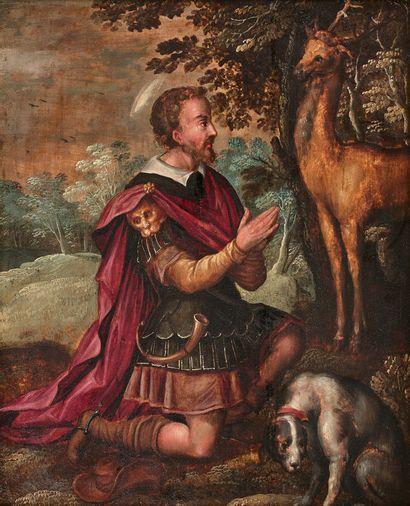 ÉCOLE FLAMANDE vers 1570, entourage de Joachim...