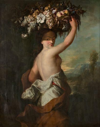 Attribué à Abraham BRUEGHEL (1631- vers...