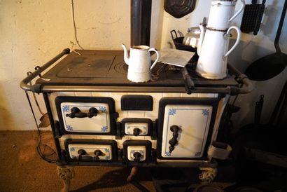 Petit piano de cuisine en fonte et fonte...