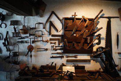 Matériel de forgeron, menuisier, charpentier:...