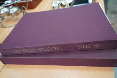 OUDOT Georges (1928-2004). Nus 69. Album...