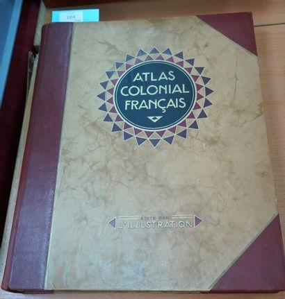 ATLAS COLONIAL FRANÇAIS. Colonies, protectorats...