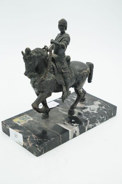D'après VERROCHIO, statue du COLLEONE, sujet...