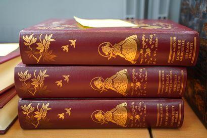 Trois volumes la Comtesse de Ségur, édition...