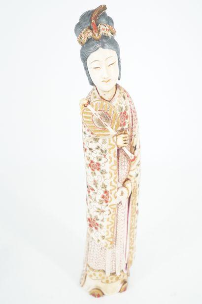 JAPON - Epoque MEIJI (1868 - 1912) Okimono...