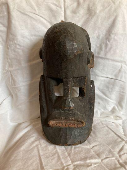 Masque de type Dogon, Mali Bois, pigments...